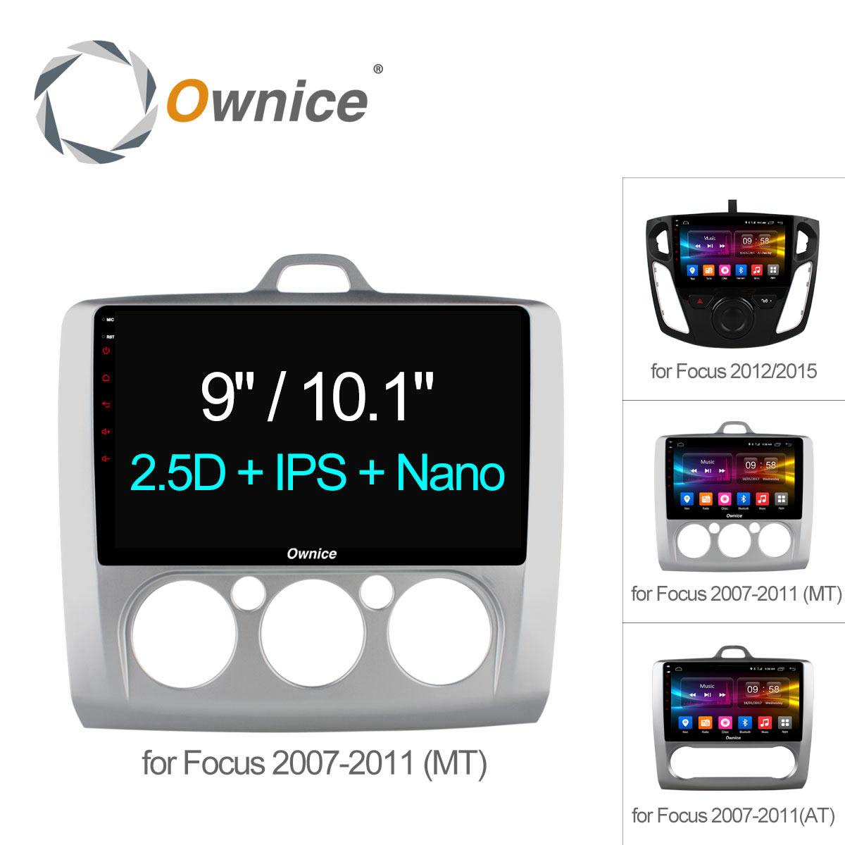 Ownice C500 + Octa 8 Core Android 6.0 Autoradio 2Din lecteur DVD GPS Navi 2G + 32G Pour Ford Focus 2007-2012 2015 Soutien 4G SIM