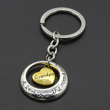 Cozy Mom Sister Daughter Gift Family Presents Keychain Keyring Charm Mothers Day Fathers Day Gifts Birthday Key Chains New Arriv