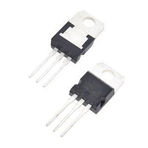 10 pces l7805cv lm7805 l7805 7805 regulador de tensão ic 5 v 1.5a a-220 fazem em china