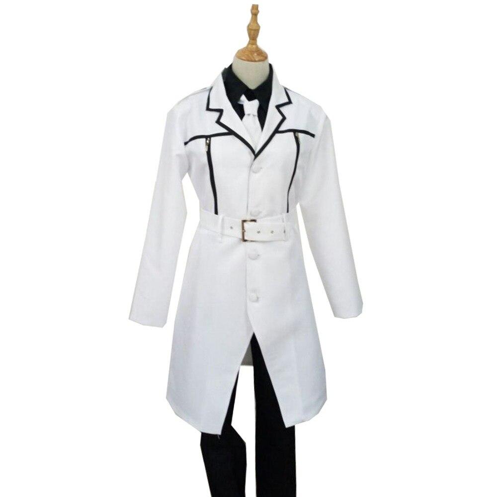 2018 japonais Anime Tokyo Ghoul: re Cosplay Costumes Sasaki Haise Kaneki Ken Cosplay Costumes blanc Trench ensemble complet