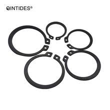 QINTIDES M3 - M60 Retaining rings for shaft-Type A GB894 Manganese steel Elastic Ring Circlip Snap M4 M5 M6 M7 M8 m9