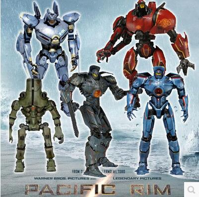 Movie Pacific Rim Mech Crimson Typhoon/Gipsy Danger/Coyote Tango/Cherno Alpha/Striker Eureka Action Figure PVC