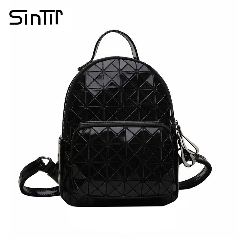 mulheres mochila famosa marca mochilas Tipo de Estampa : Geométrica