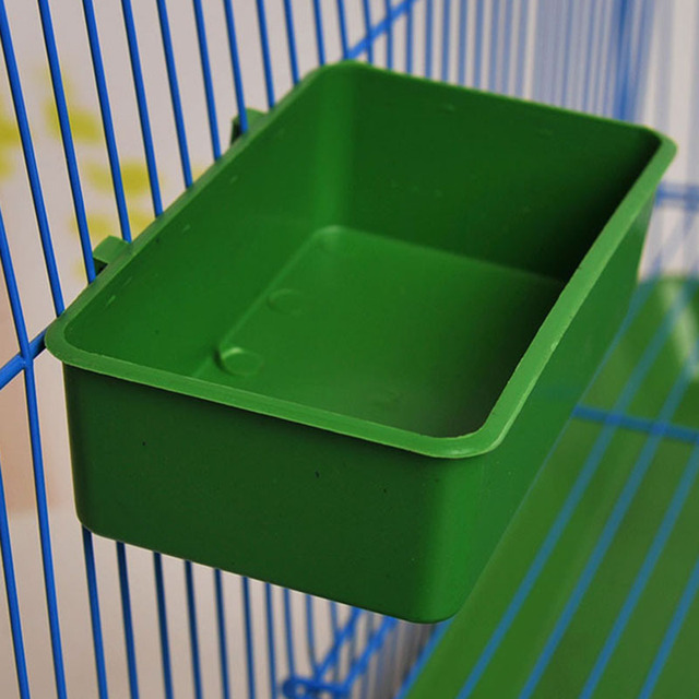 Aliexpress.com : Buy Bird Handle Water Box Cup Little Pet Multi ...