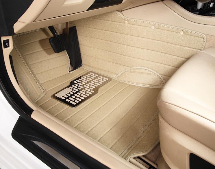 Ford Mustang üçün CHOWTOTO Xüsusi Mərtəbə Matraları 2 Mustang - Avtomobil daxili aksesuarları - Fotoqrafiya 2