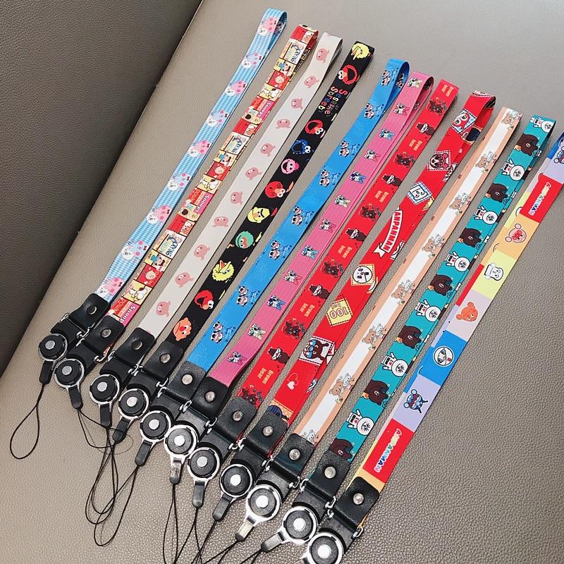 Popular Cartoon Bear Neck Strap Lanyards For Keys ID Card Gym Mobile Phone Straps USB Badge Holder DIY Hang Rope Lariat Lanyard