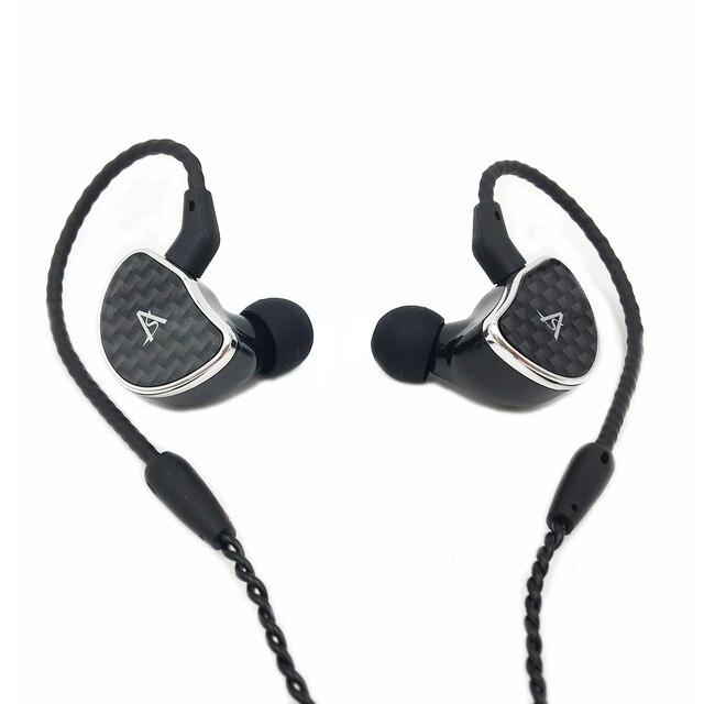 Shozy Hibiki MK2/MK II High-Definition Earphone Single Dynamic Driver HiFi In-Ear IEMs with 0.78mm Detachable Cable