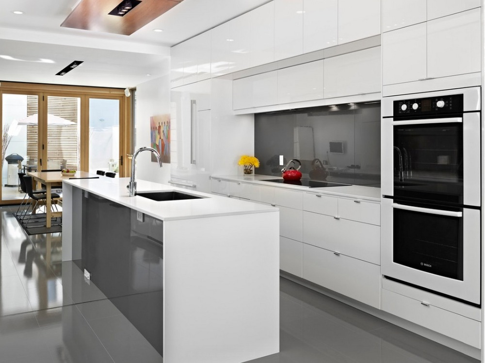 White High Gloss Modern Kitchen Cabinet Modern Kitchen Cabinets Kitchen Cabinetkitchen Cabinet Modern Aliexpress