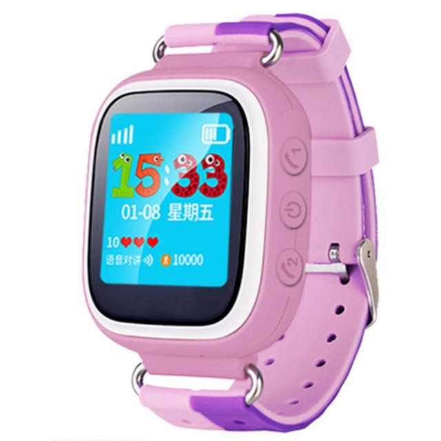 Hot sale Smart Baby Watch With Locate Anti Lost SOS Emergency GSM Smart Phone App For IOS& Android Smartwatch with touch screen