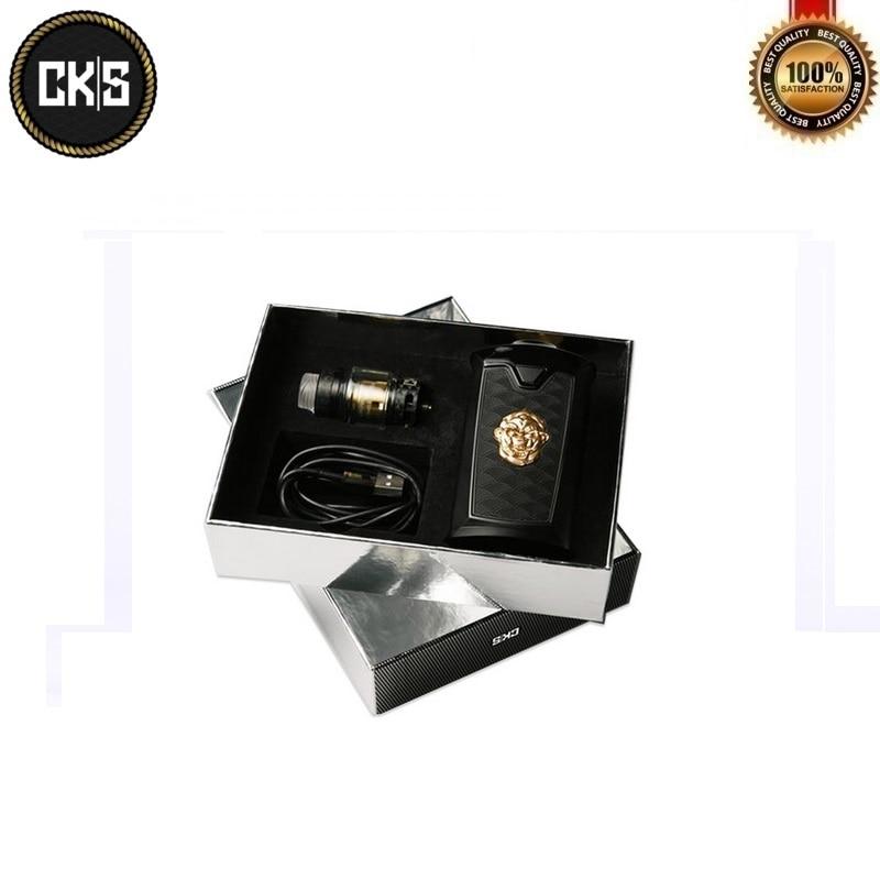 Original CKS THNDR Starter Kit 240W Box Mod with 6ML Bolt Mesh VapeTank Atomizer Powered By 18650/20700/21700 Vaporizer Kits - 3