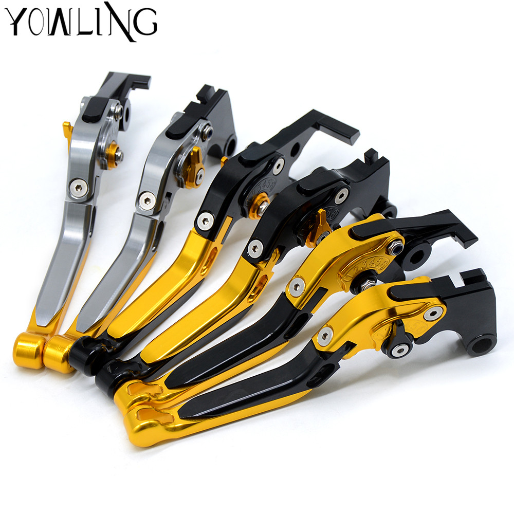 XJ6 Motorcycle Accessories Folding Extendable CNC Brake Clutch Levers For YAMAHA XJ6 DIVERSION 2009-2015 10 11 12 13 14 15