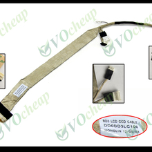 2 х ЖК-экран гибкий видео кабель для Toshiba Satellite P300 P300D P305 P305D серии для 17 дюймов ЖК-дисплей ПЗС-DD0BD3LC100 BD3