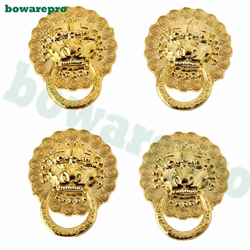 Bowarepro Mini Bronze Kupfer Goldenen Löwenkopf Schrank Griffe ...