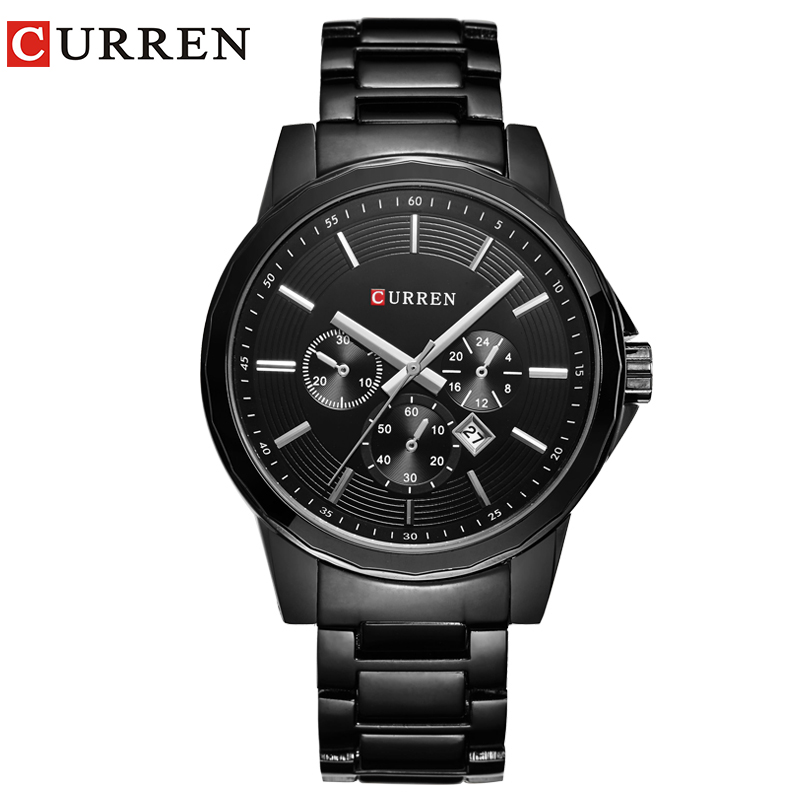 HOT CURREN Watches Men quartz Top Brand Luxury  Military male Watches Men Sports army Watch Waterproof Relogio Masculino8129