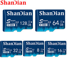SHANDIAN Micro SD card Class10 TF card16gb 32gb 64gb 8gb 80Mb/s memory card