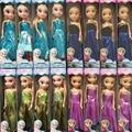 2016 Novas Bonecas Snow Queen Princesa Elsa Anna Bonecas Mini Elsa Boneca Brinquedos Crianças dolls presente das crianças Meninas carttoon aniversário