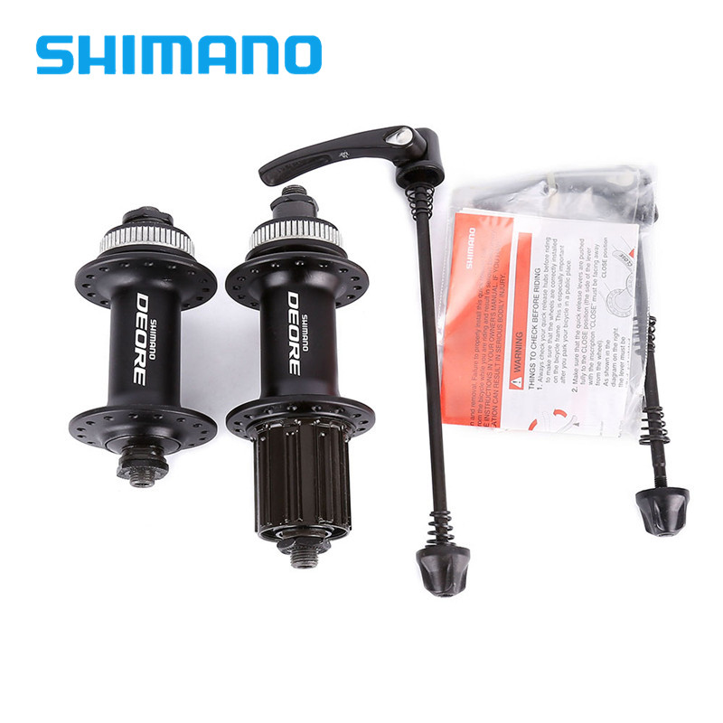 SHIMANO DEORE M615 32H Center Lock Bicycle Hub Front & Rear MTB Mountain Bike Disc Brake Parts Some countries free shipping