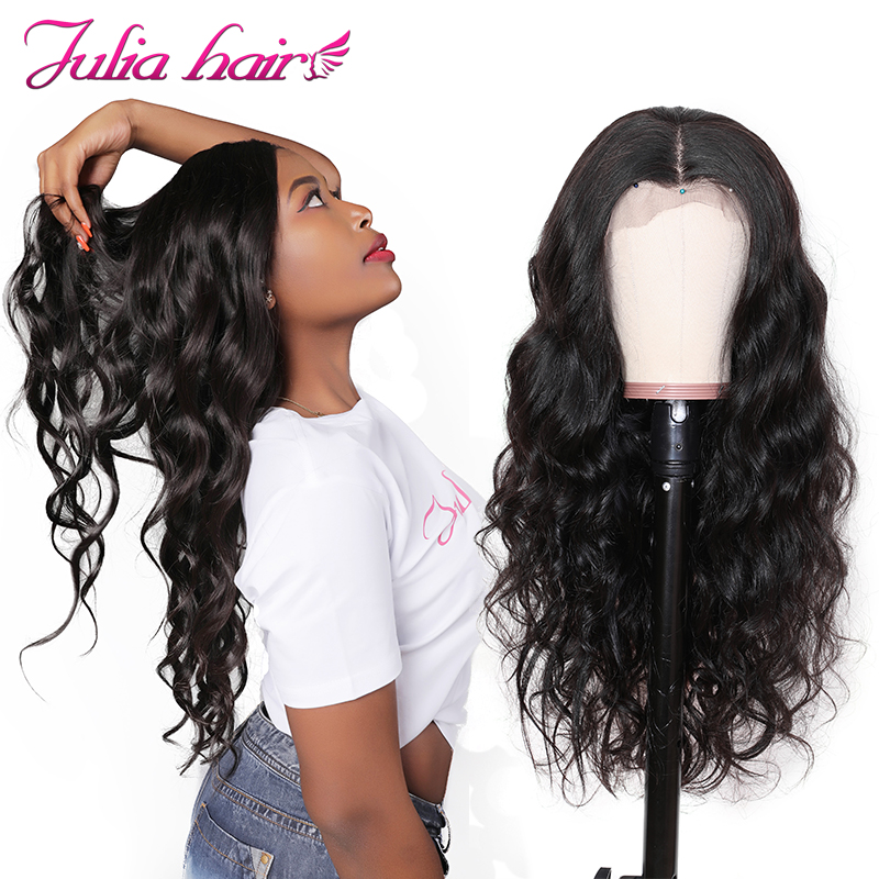 Ali Julia 13 4 13 6 Front Body Wave Lace Front Human Hair Wigs With Baby