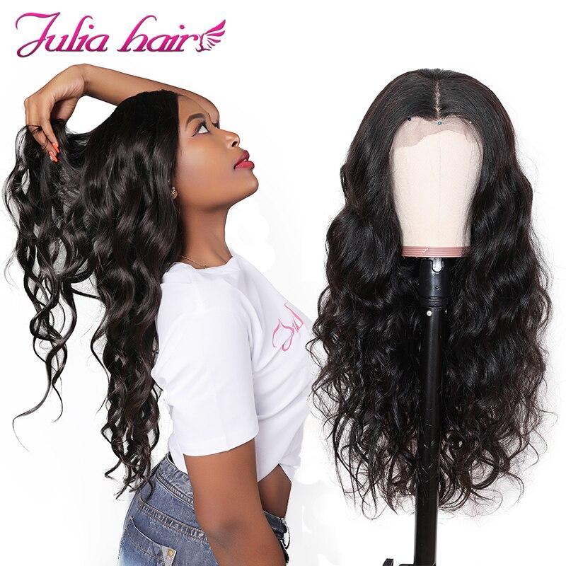 Ali Julia 13 × 4 13 × 6 ciało fala przejrzyste koronki przodu włosów ludzkich peruki z dziecięcymi włosami 150% gęstości włosy brazylijskie remy peruka w Peruki z ludzkich włosów na siatce od Przedłużanie włosów i peruki na AliExpress - 11.11_Double 11Singles' Day 1