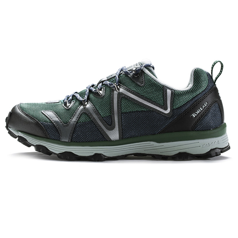 ФОТО Toread Hiking Shoes Walking Men Sport Shoes Breathable Popular  New Arrival KFFD91417