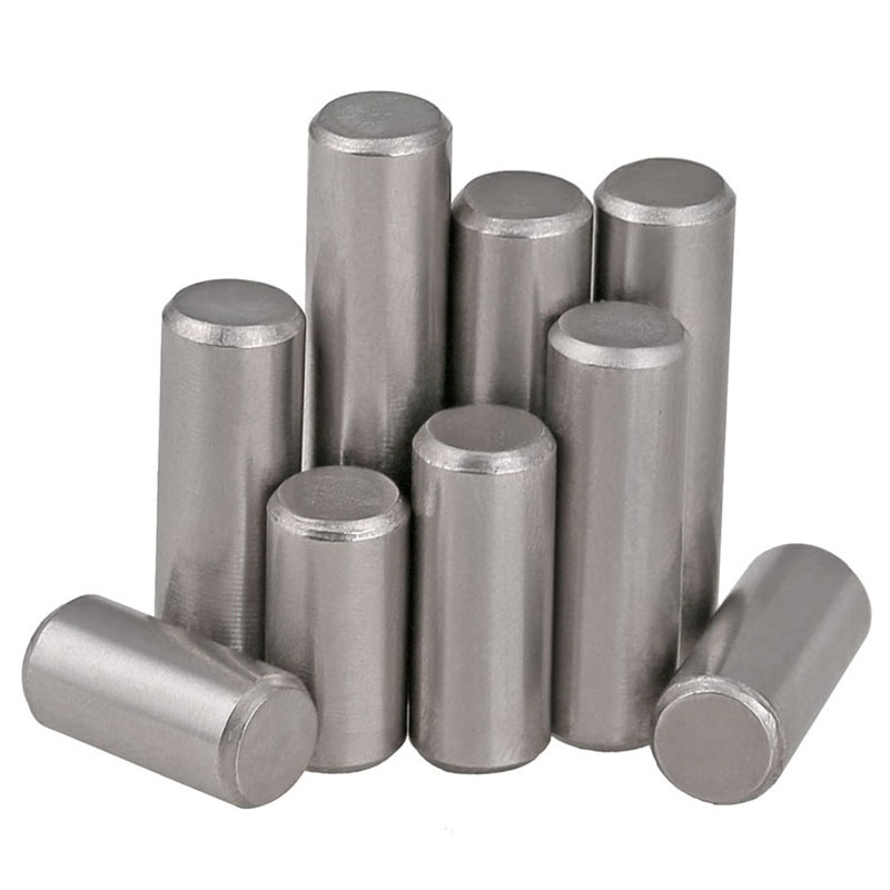 M4*6/8/10-60 GB119 Standard 304 Stainless Steel Cylinder Pins, Locating , Solid Pins, Retaining Pins, Pins