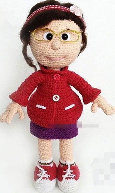 crochet toys  amigurumi  handmade girls  rattle  doll   model  number  ES0126
