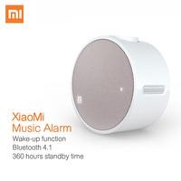 Original Xiaomi Mi Music Alarm Clock Bluetooth 4 1 Round 360 Hours Standby Portable Speaker 2600mAh