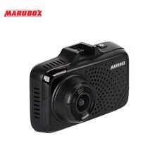 MARUBOX M650R 2018 Новый Видеорегистраторы для автомобилей Антирадары gps 3 в 1 тире Камера Super HD 1296 P видео регистратор Регистраторы G датчик регистраторы