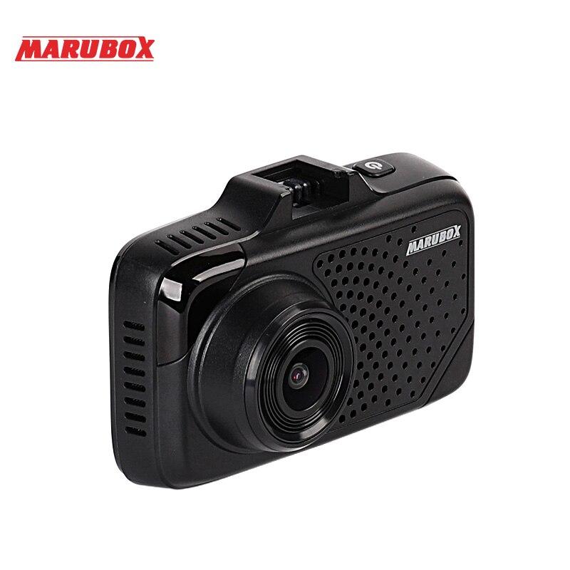 MARUBOX M650R 2018 Nouvelle Voiture DVR Détecteur de Radar GPS 3 Dans 1 Dash Caméra Super HD 1296 p Vidéo Registrator enregistreur g-sensor Dash Cam