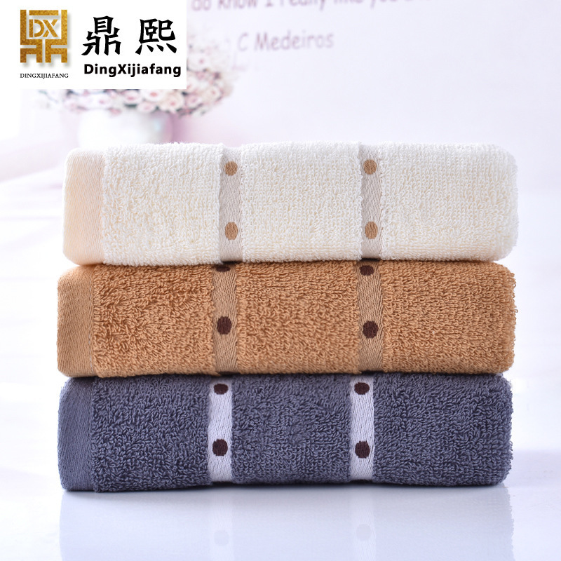 Home furnishing home comfortably thickened adult towel, pure cotton beauty salon, washcloth, gift towel, customized LOGO-in Storage Bags from Home & Garden