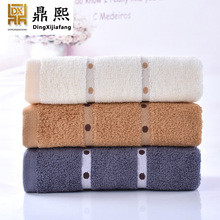 Home furnishing home comfortably thickened adult towel, pure cotton beauty salon, washcloth, gift towel, customized LOGO