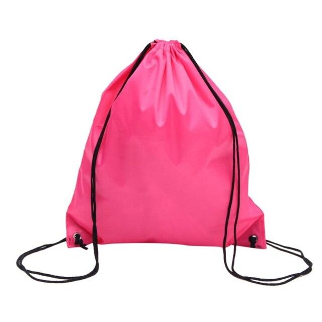 Premium School Drawstring Duffle Bag Sport Climbing Bike Gym Swim Dance  Shoe Backpack Knapsack Racksack f2b4acceea068
