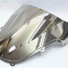 Chrome ветровое стекло для 2001-2003 Suzuki GSXR GSX-R 600 750 2002 K1