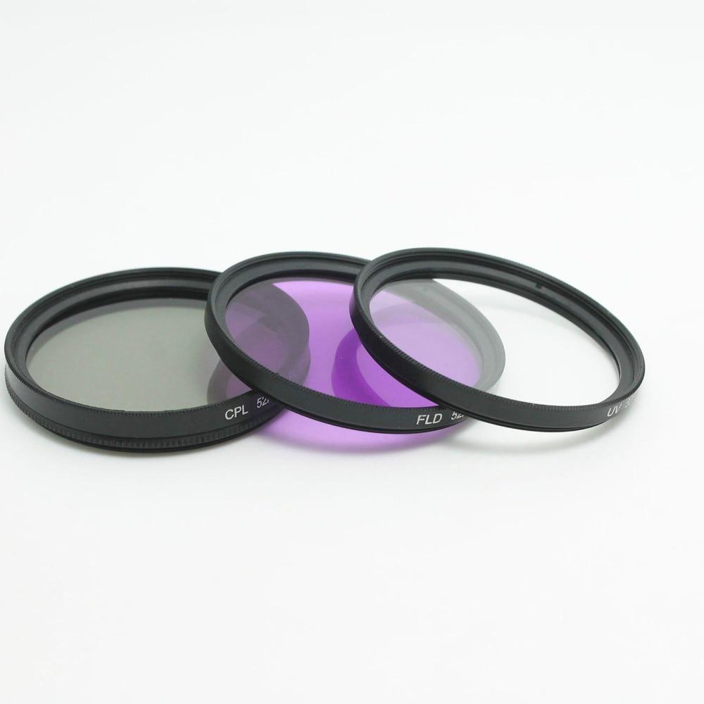 RISE (MB) 62mm UV CPL FLD ND4 Kit e Kapakut të Filtrit për Tamron - Kamera dhe foto - Foto 2
