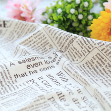 Fashion styles English Newspaper Printing Style Photography Backdrops Diablement Cloth Photo Accessories