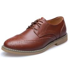 2016 New British fashion Bullock Oxford Shoes For Men, Luxury Brand Men Dress Shoes, Business Leather Shoes 13025# Size38-44