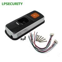 LPSECURITY standalone RFID fingerprint access control reader single biometrics fingerprint access controller door LOCK opener