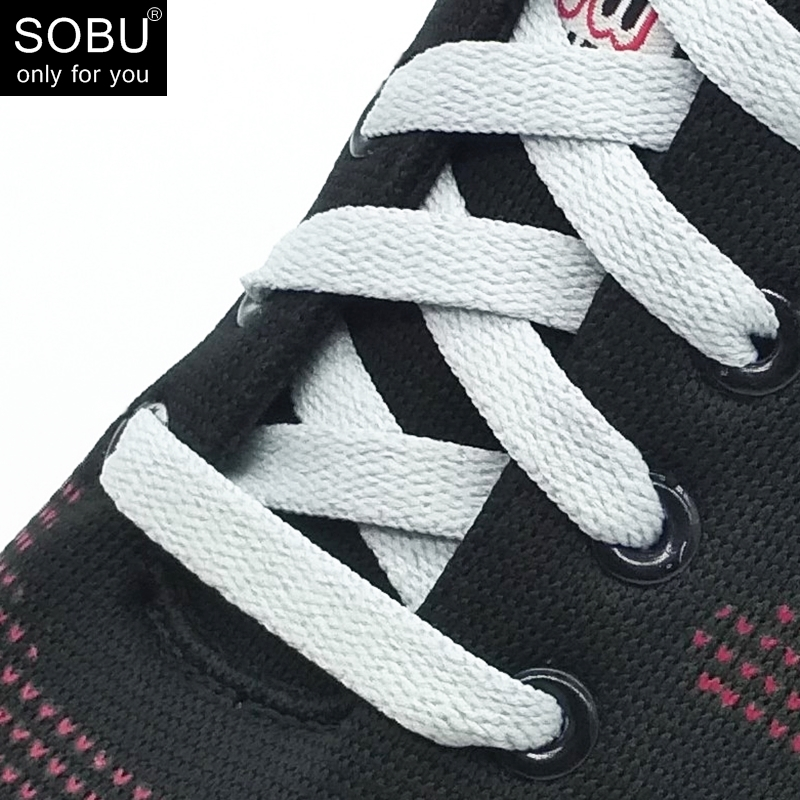 115cm Wide of Flat Shoelaces Shoe Laces for Sneakers Sport Shoes 5 Colors N051 5pcs 6 pairs of flat shoes laces shoelaces for sneakers boots 8mm 90cm
