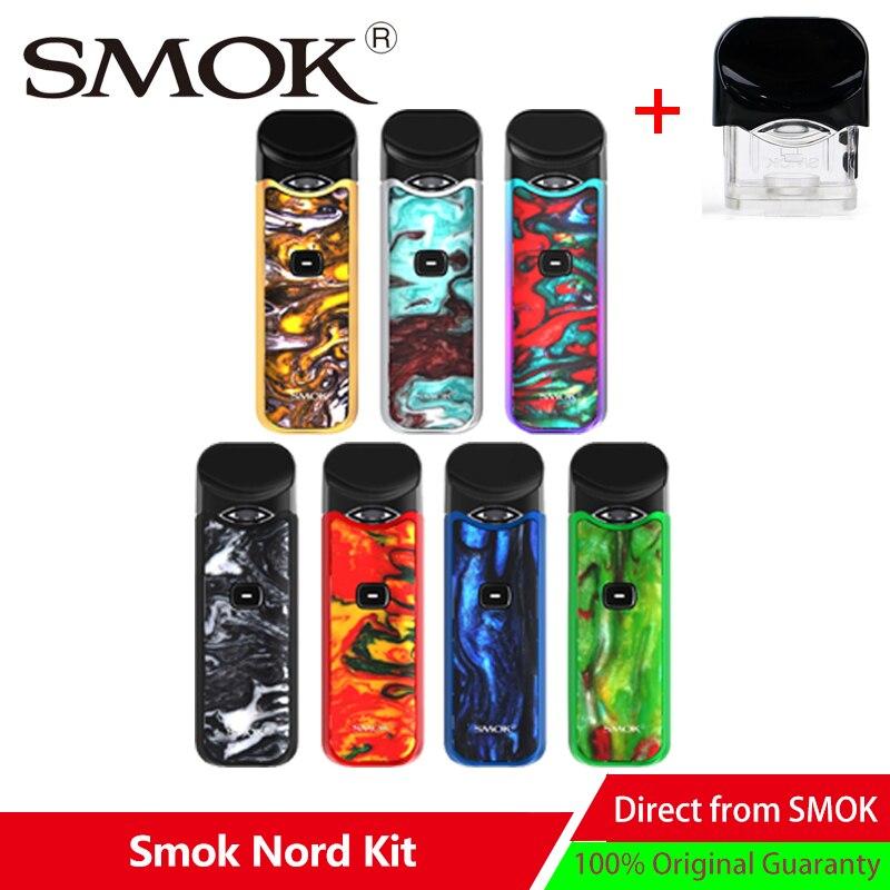 Kit Original de Vape à dosette Smok Nord Mini Kit de stylo à Vape Anti-fuite avec Mini vaporisateur à cartouche 1100 mAh et 3 ML