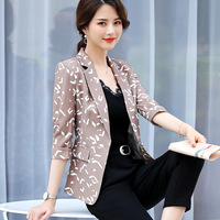 Small Suit Jacket Ladies Spring And Autumn 2009 Casual Self-Cultivation/Print Fashion Blazers