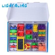 LIGHTALING Оснастка Цепей Строительные Блоки Образовательной Модели 61 Компоненты для Создания Различных Электронных Проектов для Детей Игрушки