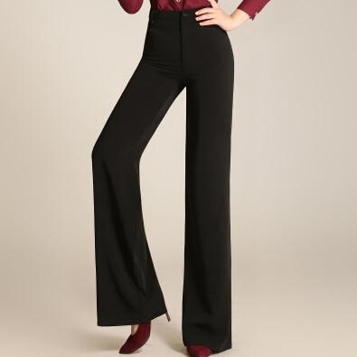 2016 Venta caliente mujeres Pantalones Slim alta cintura Pantalones anchos  colores del caramelo ol delgado de la vendimia Pantalones más tamaño en ... f0d82be5878b