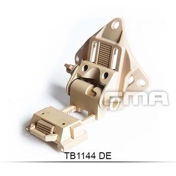 Free Shipping High Quality FMA L4G19 NVG Fast Helmet Mount CNC TB1144-DE Helmet Accessories