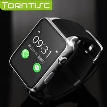 2016 nueva gt88 bluetooth muñeca smartwatch smart watch pulsómetro apoyo tf tarjeta sim para ios android smartphone de sistema