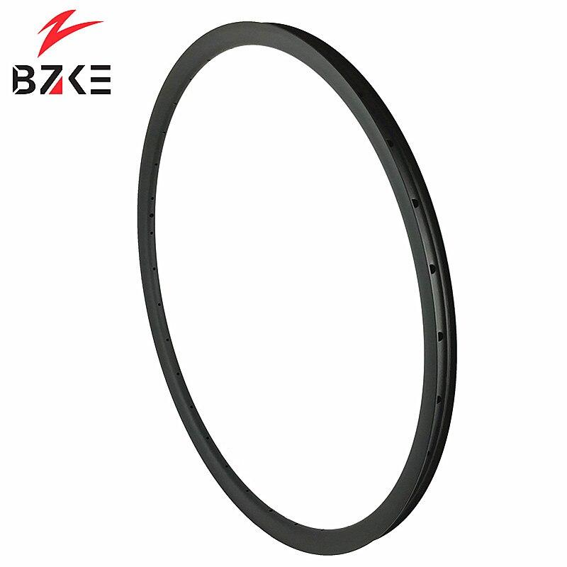 BZKE carbon rims mtb 29 super light carbon bicycle hoops 29er 310 grams 30mm width 22mm