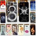 Para lenovo a8 a806 cor da pintura de plástico rígido caso tampa do telefone móvel diy pintura saco celular shell frete grátis