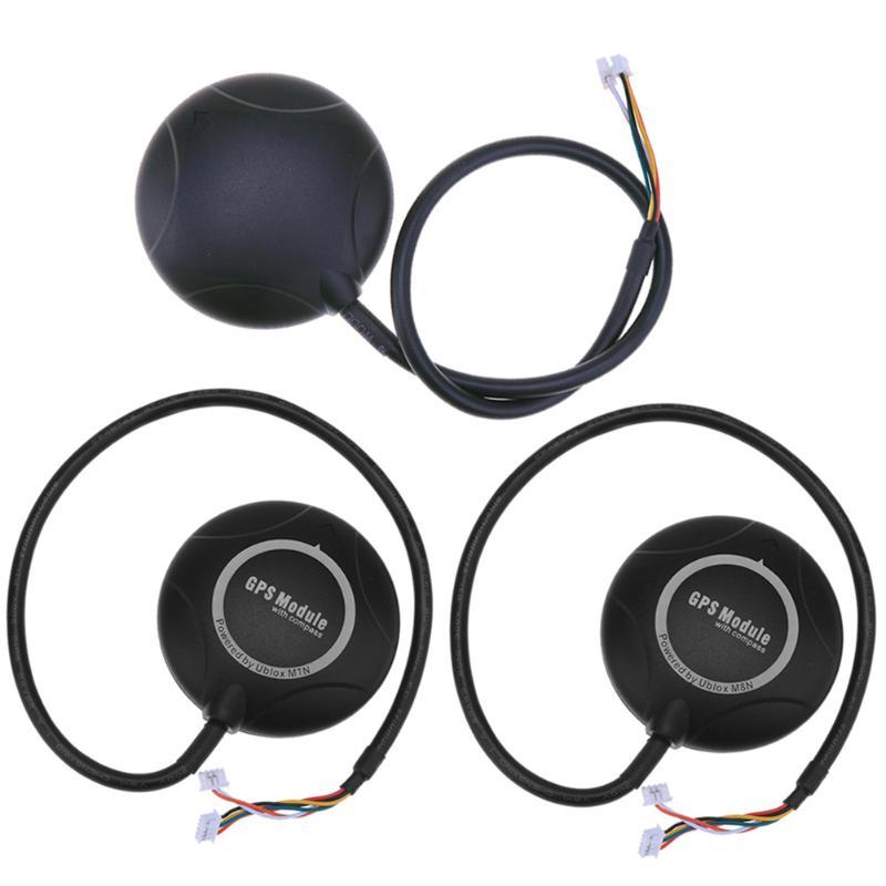 1 unid mini neo-m8n módulo GPS para APM 2.6 2.8 Pix Mandos de vuelo DIY RC drone alta calidad partes y accesorios