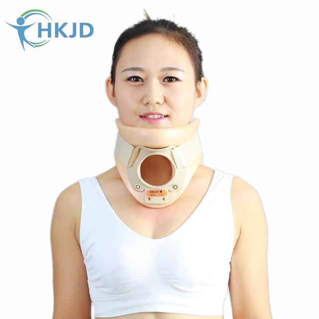 Adultos Traqueotomía Collarín Cervical Neck Brace Soporte para fractura De la columna Cervical De Espuma Transpirable de Rehabilitación