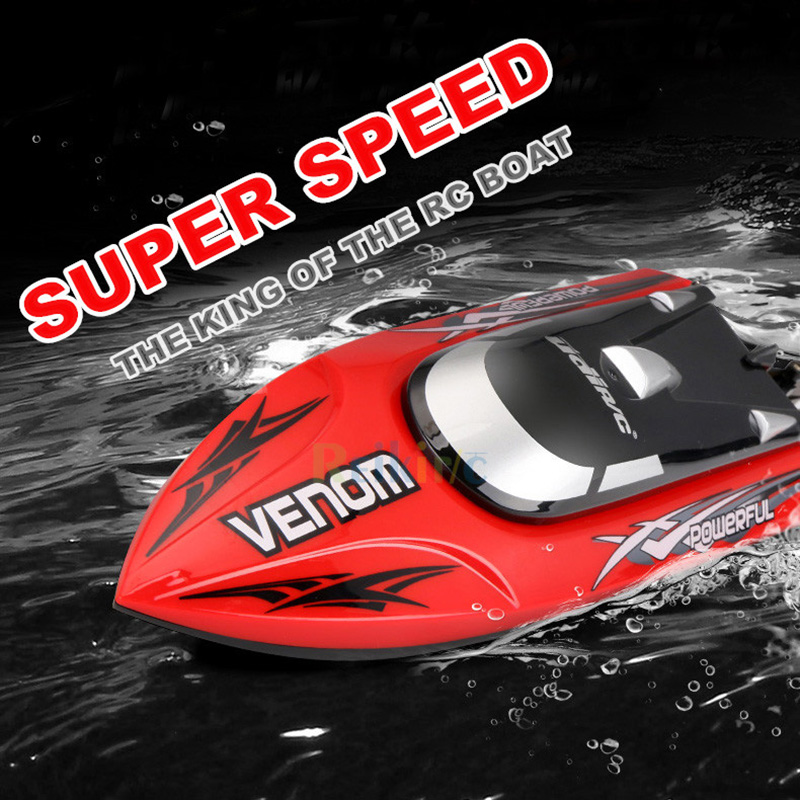 RC Boat 2.4GHZ Waterproof Speedboat High Speed RC Ship Simulation Speed Craft Remote Control Toy High Speed Racing Boat high quality high speed rc boat 13000 6ch mini radio control simulation series rc nuclear racing submarine model kids best gifts