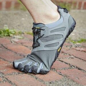 Image 5 - Vibram Fivefingers мужские кроссовки, Нескользящие, для бега, на открытом воздухе, с пятью пальцами, для паркура, приключений, спортивная обувь